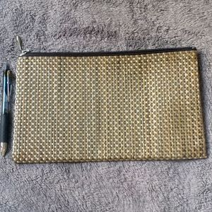 Chilewich lg Lattice Zip Bag